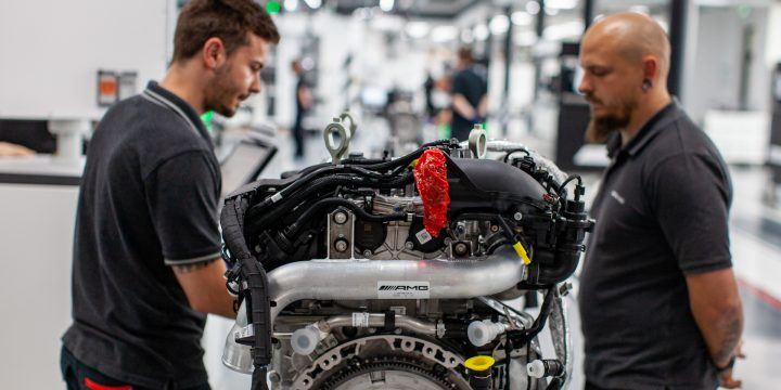 AMG's new turbo-4 aims higher with more horsepower
