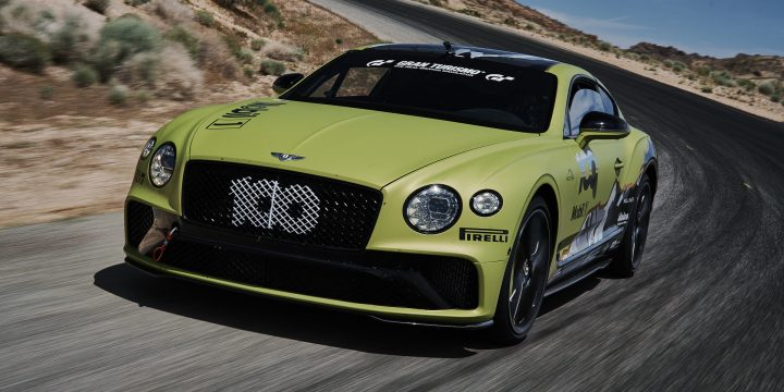 2019 Bentley Continental GT aims for Pikes Peak production car record
