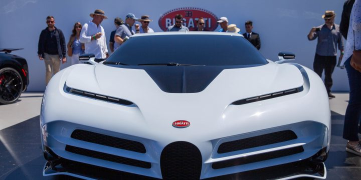 $8.9M Bugatti Centodieci is Chiron's tribute to EB110 and you can't have one