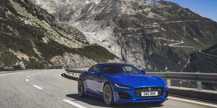 2021 Jaguar F-Type gets facelift, new tech, more power