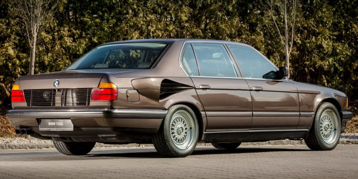 "BMW made a V-16-powered 750iL named ""Goldfisch"" in 1987"