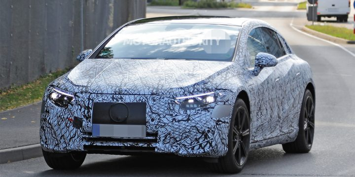 2021 Mercedes-Benz EQS spy shots