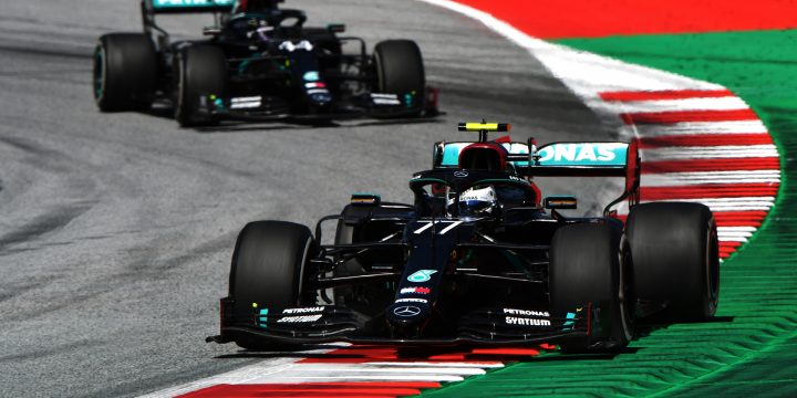 Mercedes' Bottas comes out on top at 2020 Formula One Austrian Grand Prix