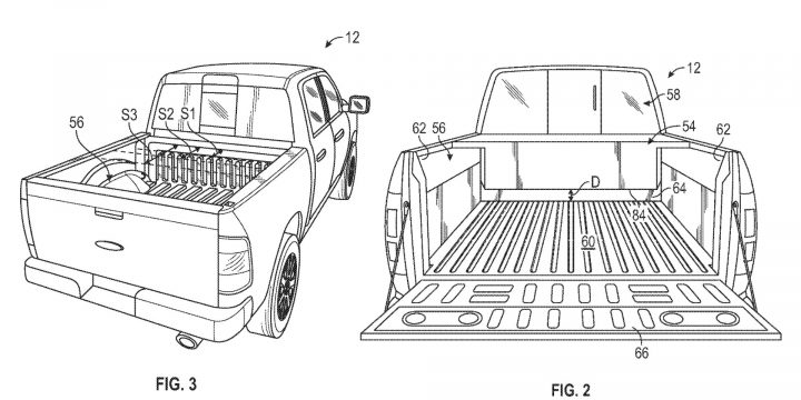 Electric Ford F-150 might be available with bed-mounted gas range extender