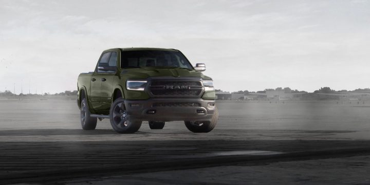 Next Ram 1500 Built To Serve trucks take a maritime land force-inspired tack